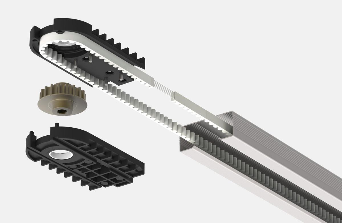 Автоматика для гаражных ворот an-motors